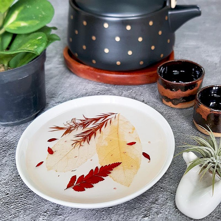 Botanical Luxe Resin Dish Workshop at Room to Imagine image
