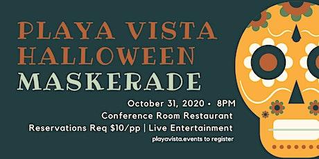 Playa Vista Halloween 'Mask'erade tickets