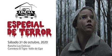 Cinema del Valle / La Bruja / 8:30 pm boletos