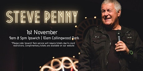 1st November with Ps Steve Penny | 9am service tickets