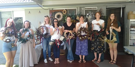 Dried & preserved flower Wreath Workshop tickets