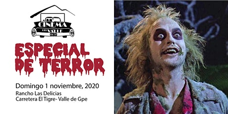Cinema del Valle / Beetlejuice / 6:00 pm boletos