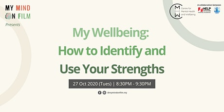 My Wellbeing: How to Identify and Use Your Strengths tickets