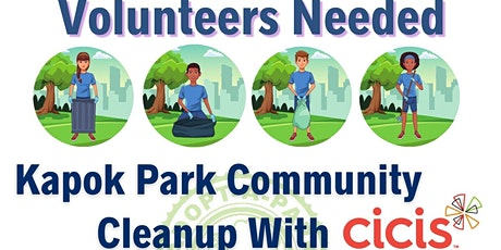 Community Cleanup at Kapok Park tickets