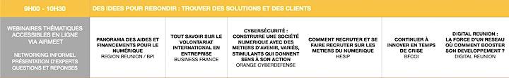 Image pour NxSE 2020, Edition Connectée : Programme des Webinaires 28-30 Oct.