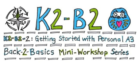 K2-B2 Workshop 2: Getting Started with the Personal A3 tickets