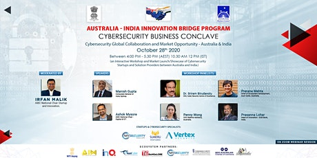 Australia India Innovation Bridge : CyberSecurity Business Conclave tickets