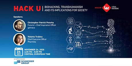 Hack U. Biohacking, Transhumanism and its Implications for Society tickets