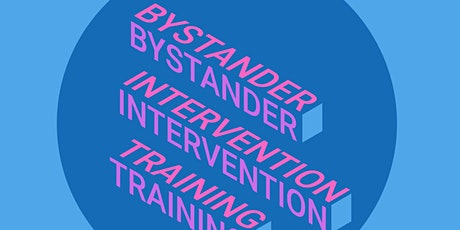 Bystander Intervention Training tickets