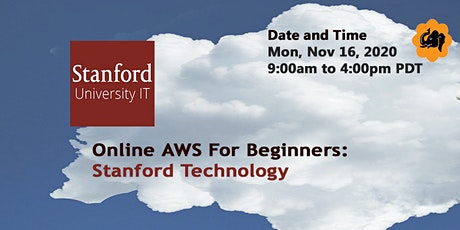 Online AWS for Beginners: Stanford Technology tickets