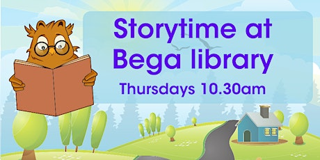 Storytime at Bega Library tickets