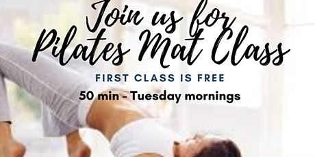 Pilates Mat Class for Beginners - Byron Bay tickets