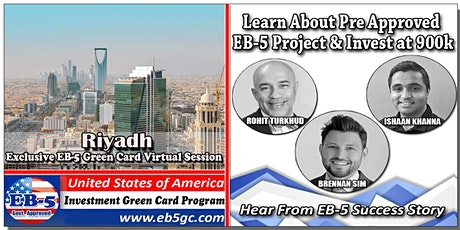 Riyadh EB-5 American Green Card Virtual Market Series tickets