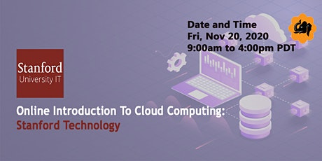 Online Introduction to Cloud Computing: Stanford Technology tickets