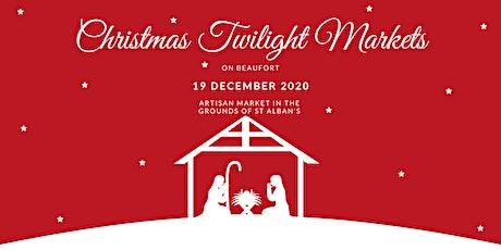 Vendor registration: Christmas Twilight Markets on Beaufort Street tickets