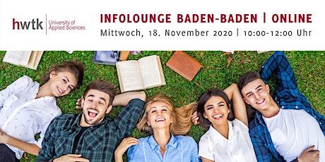 hwtk InfoLounge Baden-Baden | ONLINE Tickets