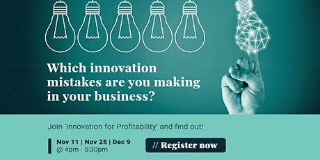 Innovation for Profitability (Free Live Webinar) tickets