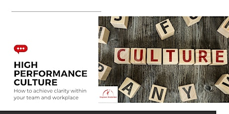 High Performance Culture tickets