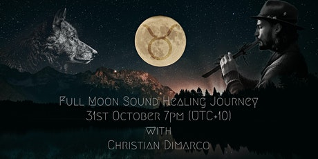 31st October Full Moon Sound Journey w/ Christian Dimarco - Live tickets
