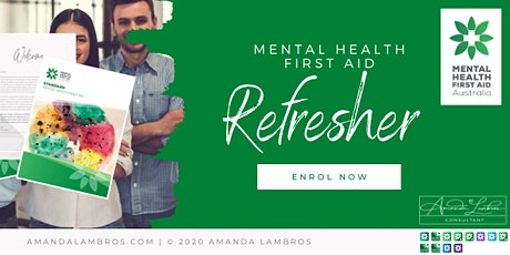 Mental Health First Aid Refresher tickets