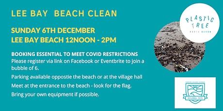 Lee Bay Beach Clean tickets