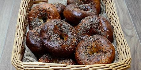 Virtual Baking Class- Bake your own gf brunch bagels! tickets