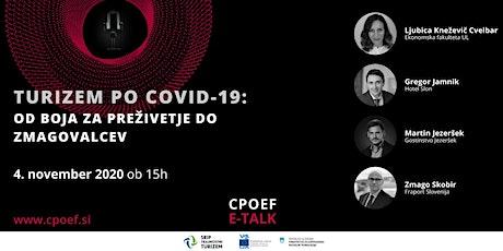 CPOEF E-Talk: Turizem po Covid-19: Od boja za preživetje do zmagovalcev tickets