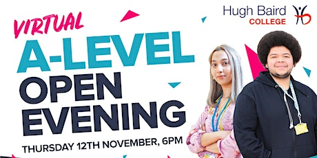 Virtual A-level Open Evening tickets