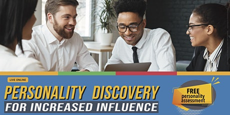 Personality Discovery for Increased Influence tickets