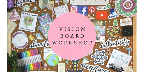 Create your VISION Board for 2021 Workshop tickets