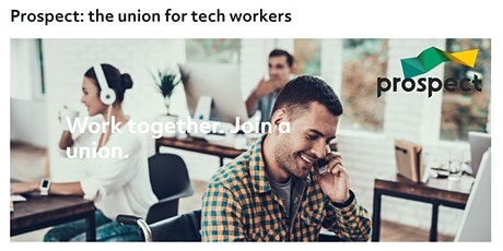 Organising at Work - Prospect in Tech tickets