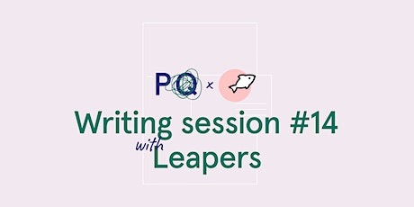 PQ x Leapers - Write a letter to your future self tickets