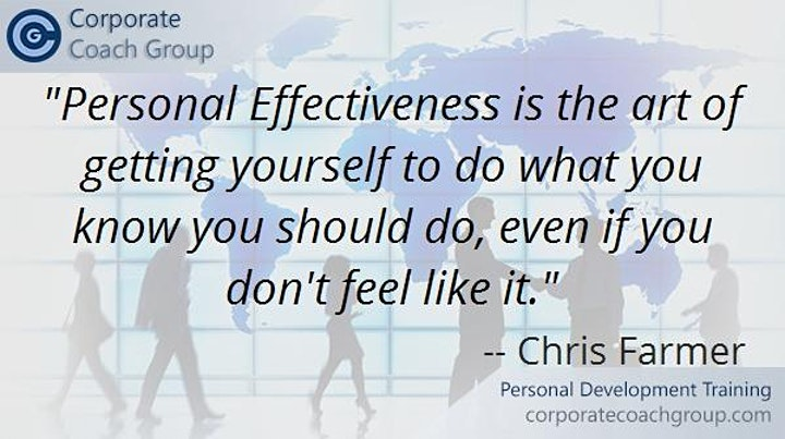 Personal Development Training (2 day course London) image