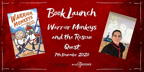 Warrior Monkeys and the Rescue Quest - Virtual Book Launch tickets