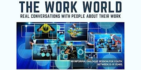 The Work World Featuring Dr Lai Junxu, Healthcare Futurist Tickets