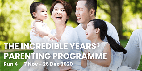 The Incredible Years® Parenting Programme Run 4
