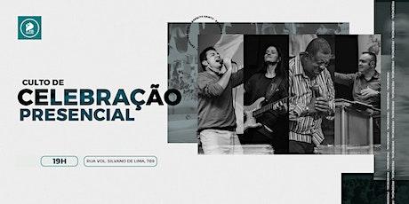 CULTO DE CELEBRAÇÃO PRESENCIAL tickets