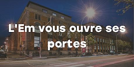 Journée Portes Ouvertes de l'EM Strasbourg billets