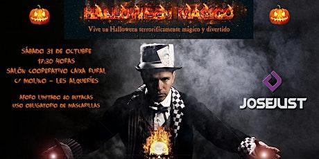 Halloween M´agico amb el mag Josejust entradas