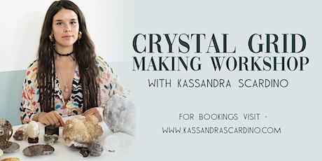 Crystal Grid Making Workshop with Kassandra tickets