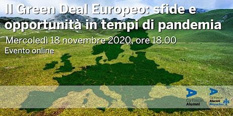 Il Green Deal Europeo: sfide e opportunità in tempi di pandemia biglietti