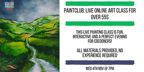 Paintclub Lucan: Art for Over 55s tickets