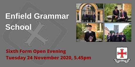 Enfield Grammar School Sixth Form Open Evening - Live Q&A Sessions tickets