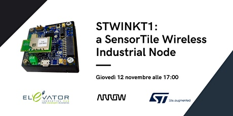 STWINKT1: a SensorTile Wireless Industrial Node tickets