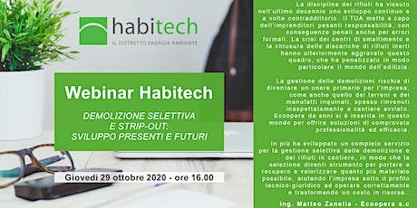 WEBINAR HABITECH - ECOOPERA biglietti