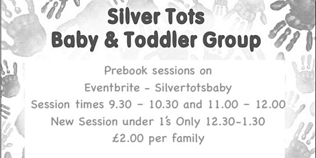 Silver Tots Baby and Toddler Group - Session 3 -UNDER 1's ONLY - 12th Nov. tickets