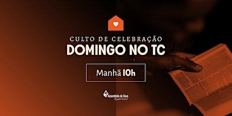Culto de Celebração - Domingo 25/10/2020 - MANHÃ ingressos