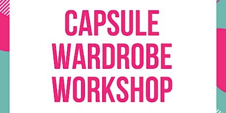 Capsule wardrobe workshop tickets