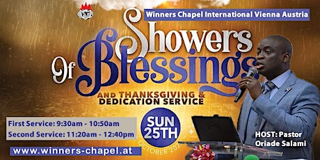 2nd Service | 25th October Sunday Service | Showers of Blessings