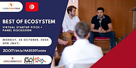 Virtual Startup Pitch Series 2020: Tunisia Ecosystem Event tickets